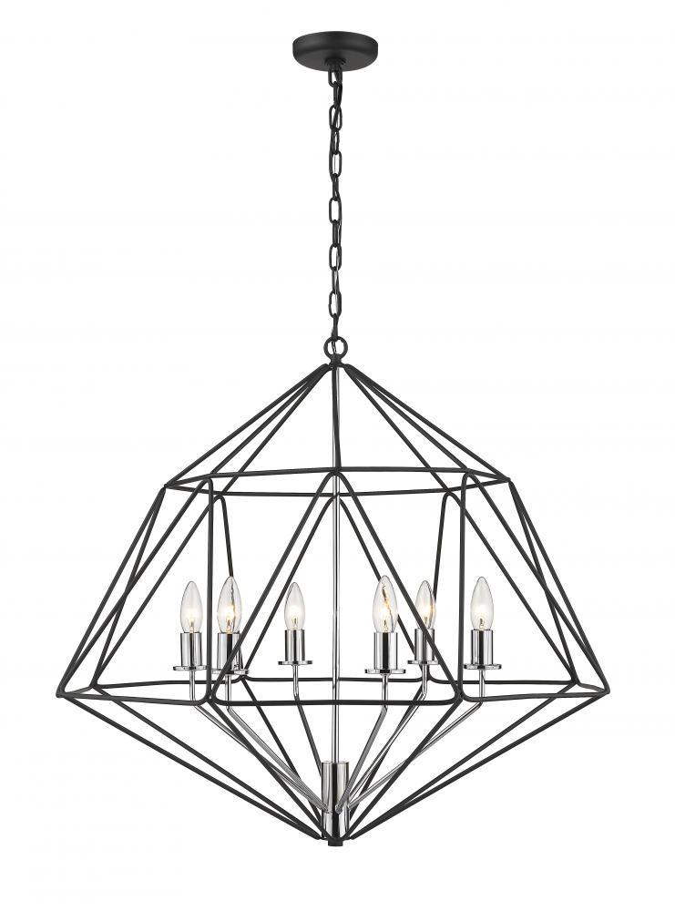 6 Light Chandelier : 918-30MB-CH | COFFMAN HOME DECOR