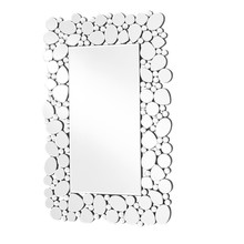 Elegant MR9122 - Sparkle 22 in. Contemporary Rectangle Mirror in Clear