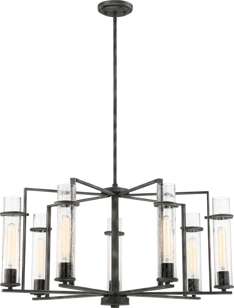 Donzi 7 light chandelier
